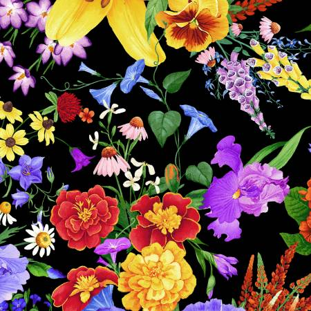Wild Meadow Floral by Chong-A Hwang Digitally Printed