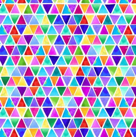Multi Triangles Digitally Printed