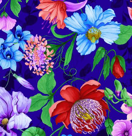 Fairy Fantasy Royal Floral large