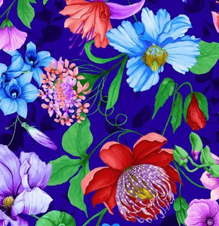 Royal Floral Digitally Printed