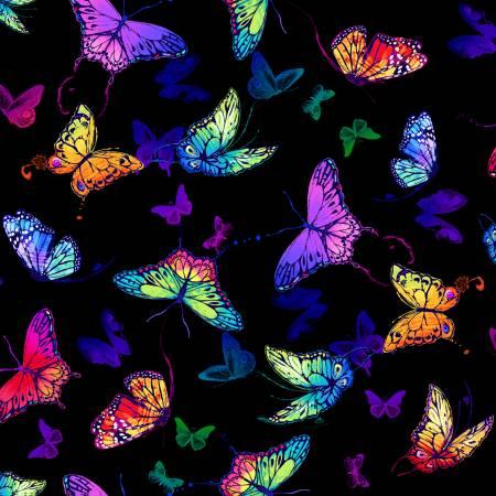 Black Whirlwind Butterflies