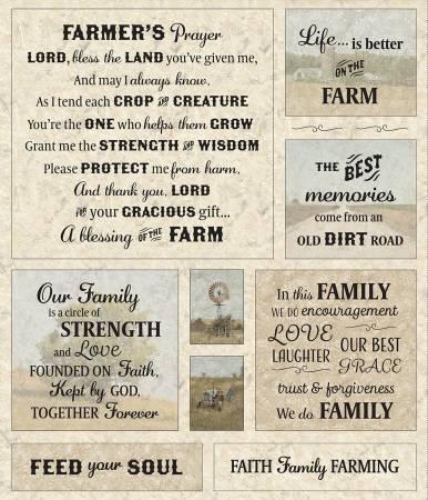 *PreOrder* Canyon Farmer's Prayer Panel