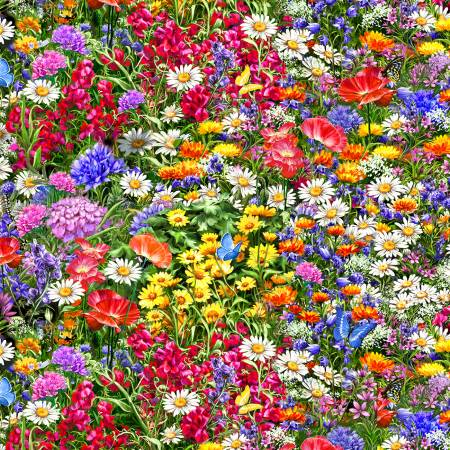 Sweet Summer Florals - Multi