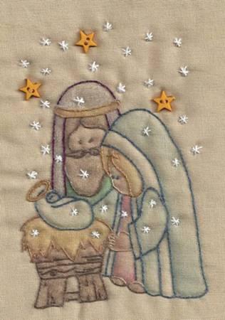 Christmas Keepsakes Nativity