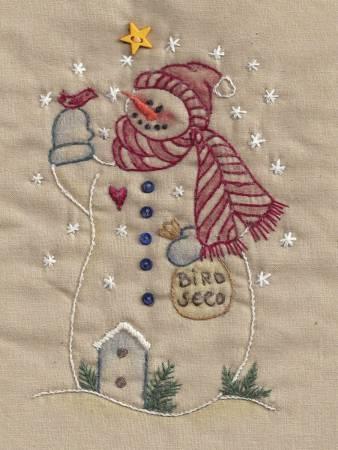 Birdseed Snowman Tea Dye