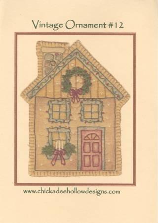 Vintage Christmas Ornament #12 - Christmas House