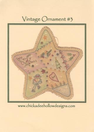 Vintage Christmas Ornament #3 - Star