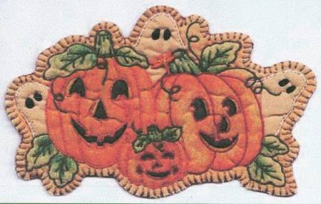 KIT HE Chickadee Hollow Vintage Autumn Pumpkin Patch