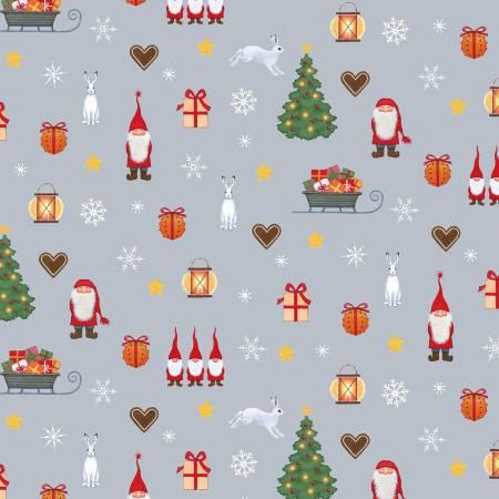 Tomten's Christmas - Grey Tomtens Festive Fun Digital CE5-1