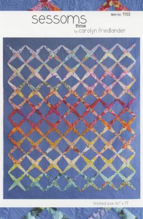 Sessoms Quilt Pattern by Carolyn Friedlander