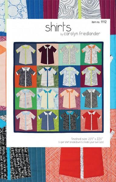 Shirts Quilt Pattern by Carolyn Friedlander