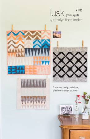 Lusk Quilt Pattern - Carolyn Friedlander