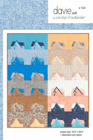 Davie Quilt Pattern - Carolyn Friedlander