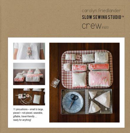 Crew Pincushion Set Pattern