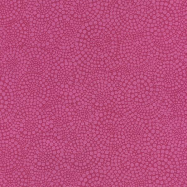 Flannel Peony Spiral Dots