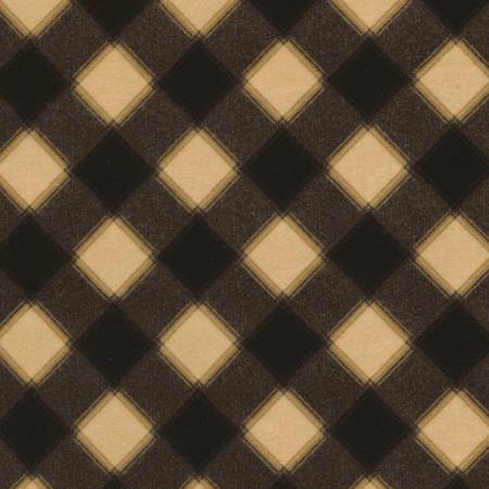 Plaid Flannel - Tan - By Timeless Treasures