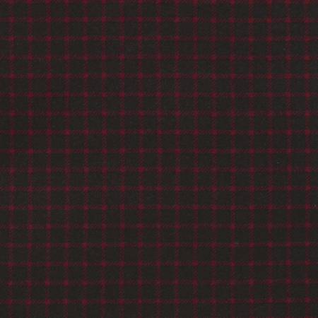 Timeless Treasures Tailor Flannel CF5326 Red