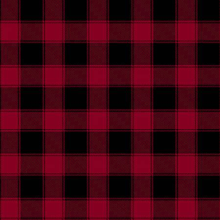 Red Plaid on Flannel