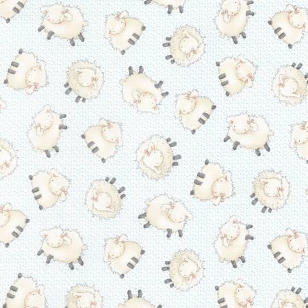 Cloud Sheep Flannel