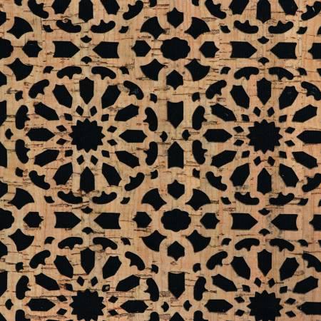 Pro Lite Black Canvas Backed Cork Mandala