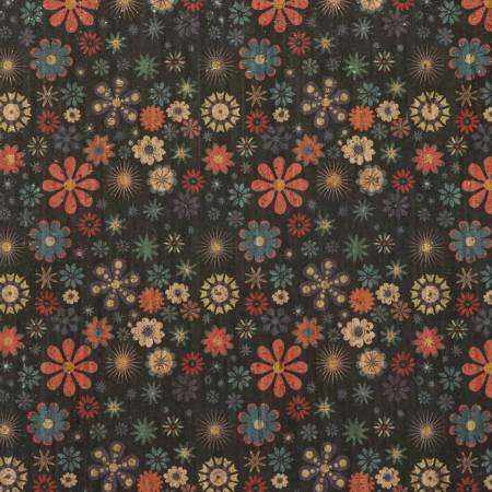 Retro Floral Pro Cork 18 x 24