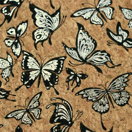 Pro Lite Butterfly Cork With Silver Metallics