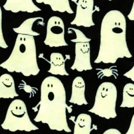 Black Ghost Glow in the Dark