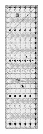 6.5 x 24.5 Quilting Ruler - LEFT HANDED - Creative Grids - CGR24LEFT