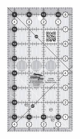 **Creative Grids Quilt Ruler 4-1/2in x 8-1/2in