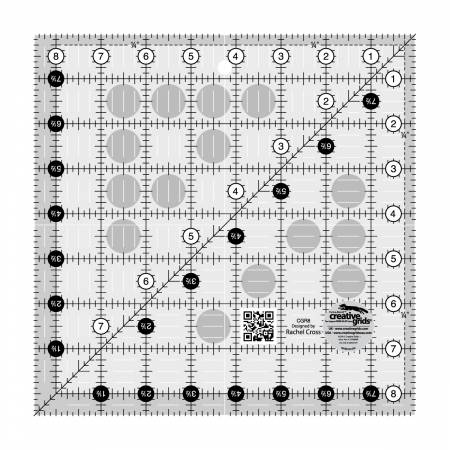 Creative Grids Quilt Ruler 8 1/2 in Square
