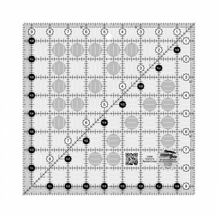 9-1/2in Square Ruler CGR9 by Creative Grids