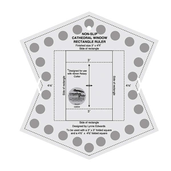 Creative Grids Cathedral Window Ruler
