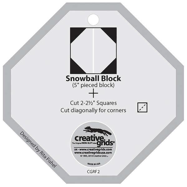 Creative Grids Template Snowball Charming 5 Square