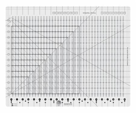 CGRGE1XL  XL Stripology Creative Grids Ruler