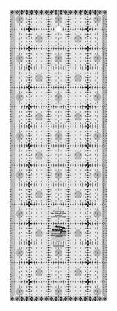 Creative Grids Charming Itty-Bitty Eights 5in x 15in Quilt Ruler