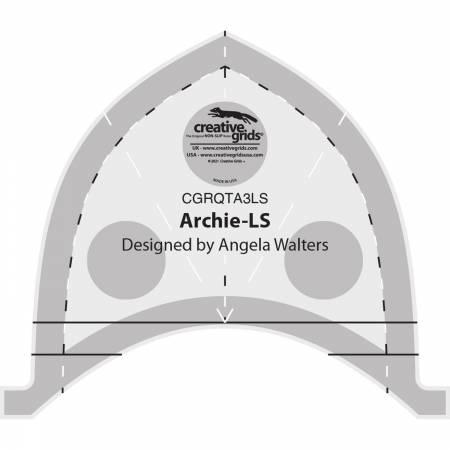 Creative Grids - CGRQTA3LS Low Shank Machine Quilting Tool Archie