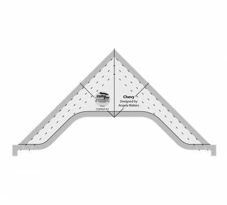 Chevy Creative Grids Machine Quilting Ruler