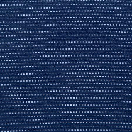 Blue Stitch 100% Cotton Chambray Stripe Navy