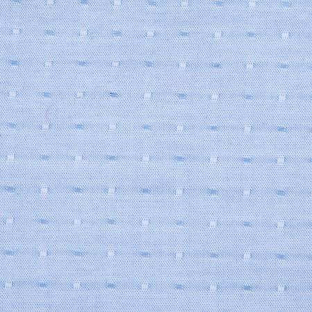 Blue Stitch 100% Cotton Chambray Dot Blue