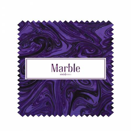 5in Squares Marble, 42pcs