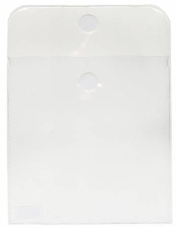 Clear Vinyl Bag For Charm Pieces 6in x 6in