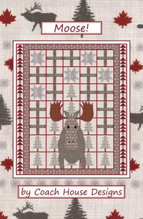 Moose Quilt Pattern