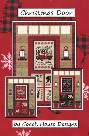 COACH HOUSE DESIGNS Christmas Door