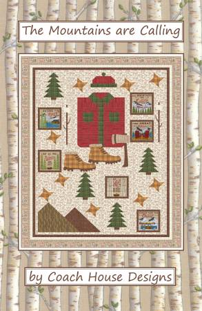 The Mountains Are Calling Quilt Kit