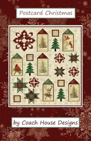 Postcard Christmas Pattern