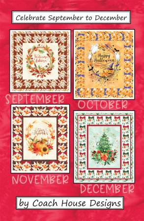Celebrate September to December ~ RELEASE DATE SEPT 1/21 ~