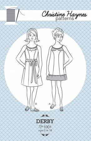 Derby Dress Sewing Pattern