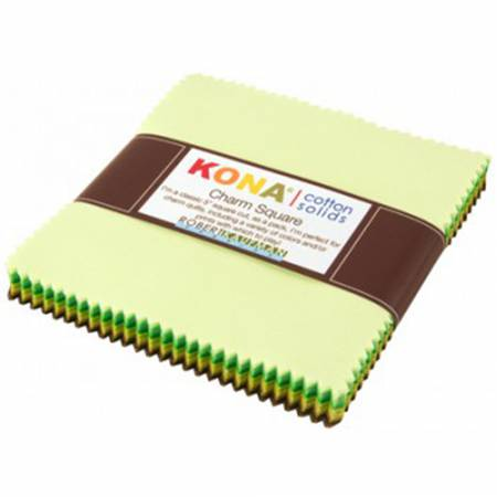 5in Squares Kona Cotton Pleasant Pastures 42pcs