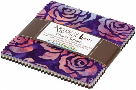 5 Squares Rosette Batik 42pcs bundle