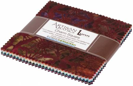5in Squares Desertscapes Batik, 42pcs/bundle